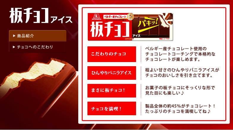 板 チョコ アイス 値段